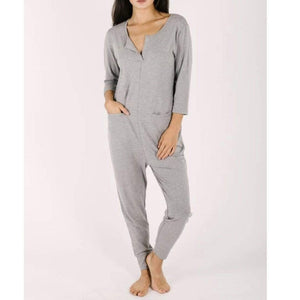 Smash + Tess- The Monday Romper in Slay Grey Jumpsuits / Rompers Smash+Tess