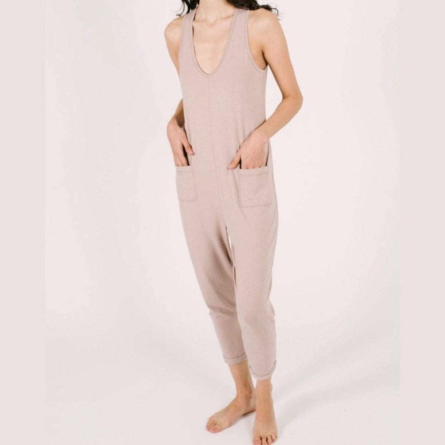 Smash + Tess- The Saturday Romper In Forever Fawn Jumpsuits / Rompers Smash+Tess