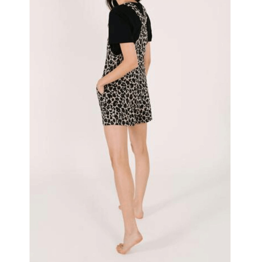 Smash + Tess- The Shorty Romperals In Lexi Leopard Jumpsuits / Rompers Smash+Tess
