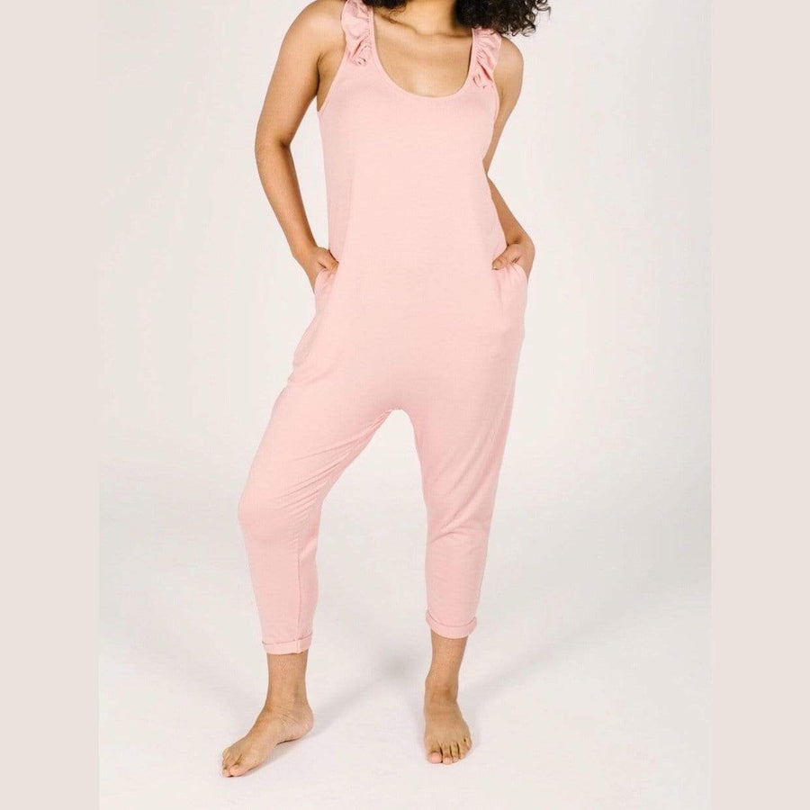Smash + Tess- The Sweetheart Romper In Pretty Pink Jumpsuits / Rompers Smash+Tess