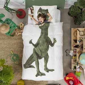 SNURK - Dinosaur Duvet Cover Set Bedding SNURK Living