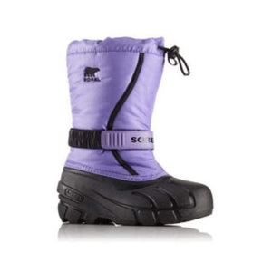 SOREL Flurry Boot - Paisley Purple / Black Footwear Sorel