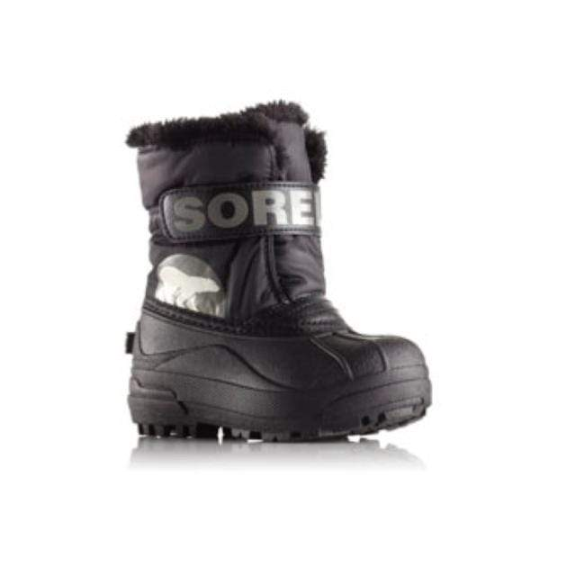 SOREL Snow Commander Boot - Black / Charcoal Footwear Sorel