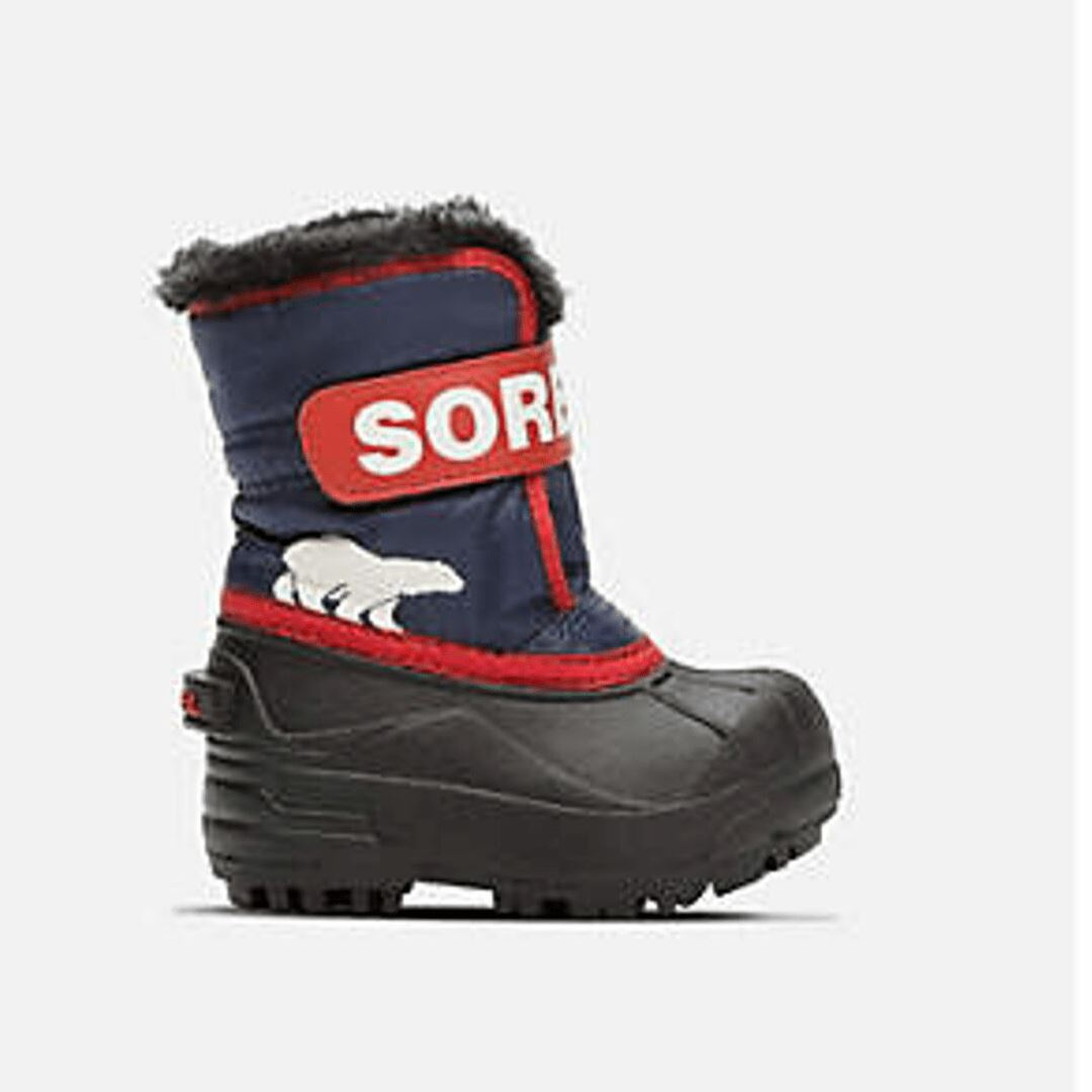 SOREL Snow Commander Boot - Nocturnal / Sail Red Footwear Sorel