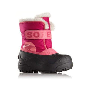 SOREL Snow Commander Boot - Tropic Pink / Deep Blush Footwear Sorel