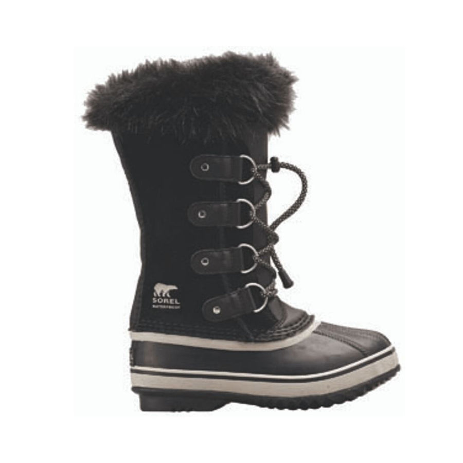 SOREL Youth Joan of Arctic Boot - Black Footwear Sorel