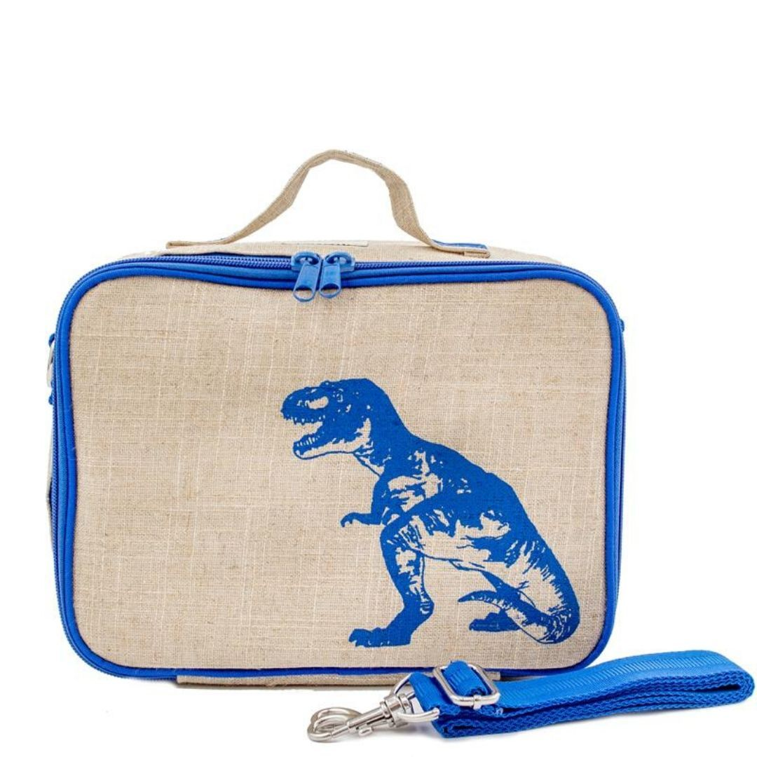 SoYoung Blue Dinosaur Lunch Box Lunch Box SoYoung