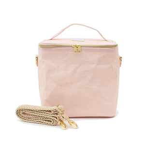 SoYoung Blush Pink Paper Lunch Poche Cooler Bag SoYoung