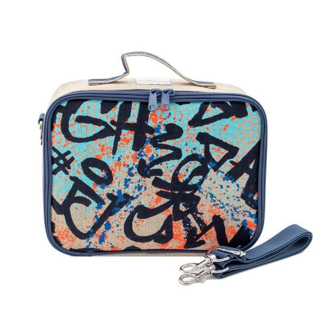 SoYoung Colourful Grafitti Lunch Box Lunch Box SoYoung