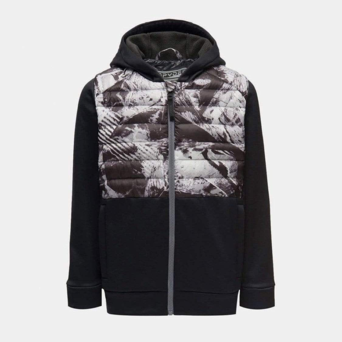 Spyder - Boys' Frozen in Time Primus Range Hoodie Jacket Winter Jacket Spyder S