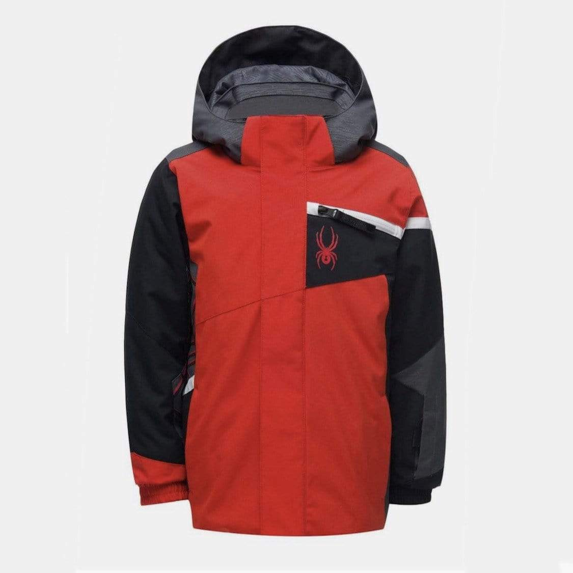 Spyder - Boys' Volcano Red Challenger Jacket Winter Jacket Spyder 2 Years