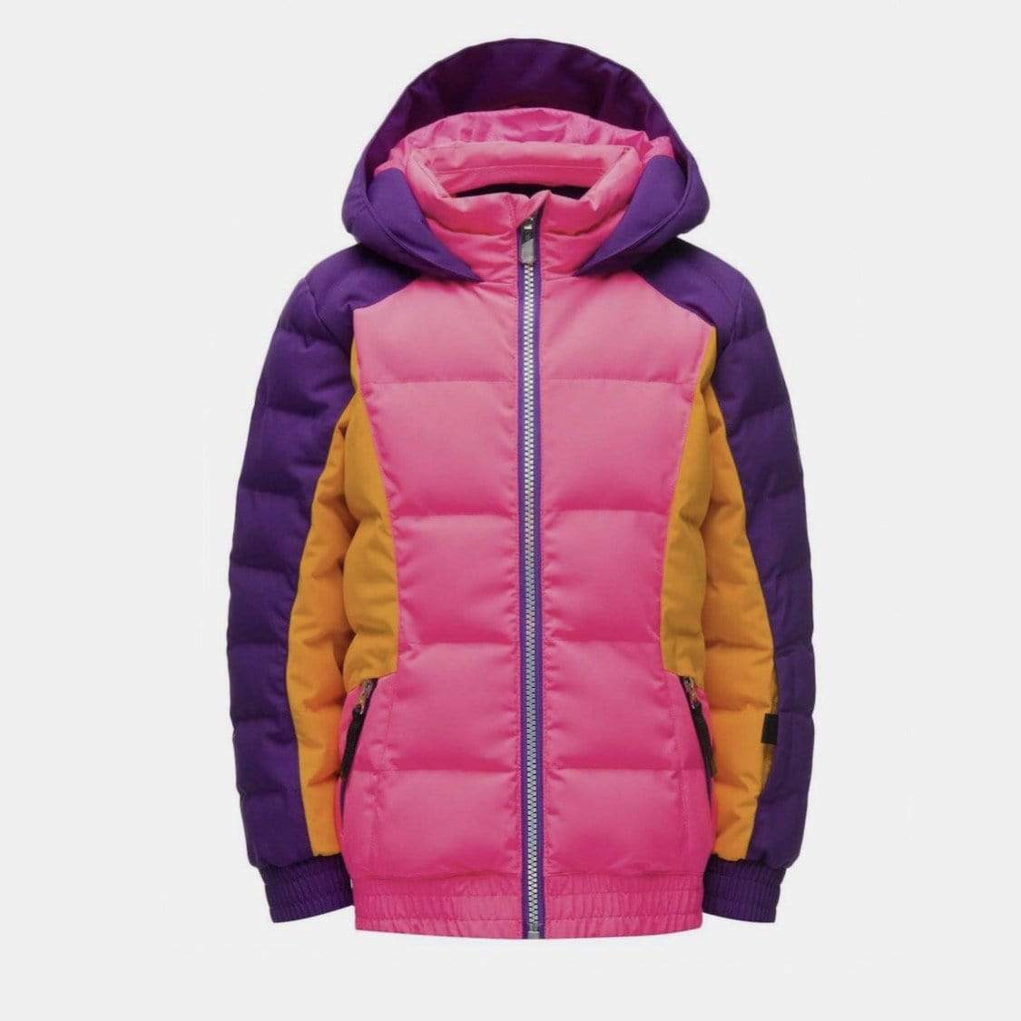 Spyder - Girls Bryte Bubblegum Pink Overflow Jacket Winter Jacket Spyder 2 Years