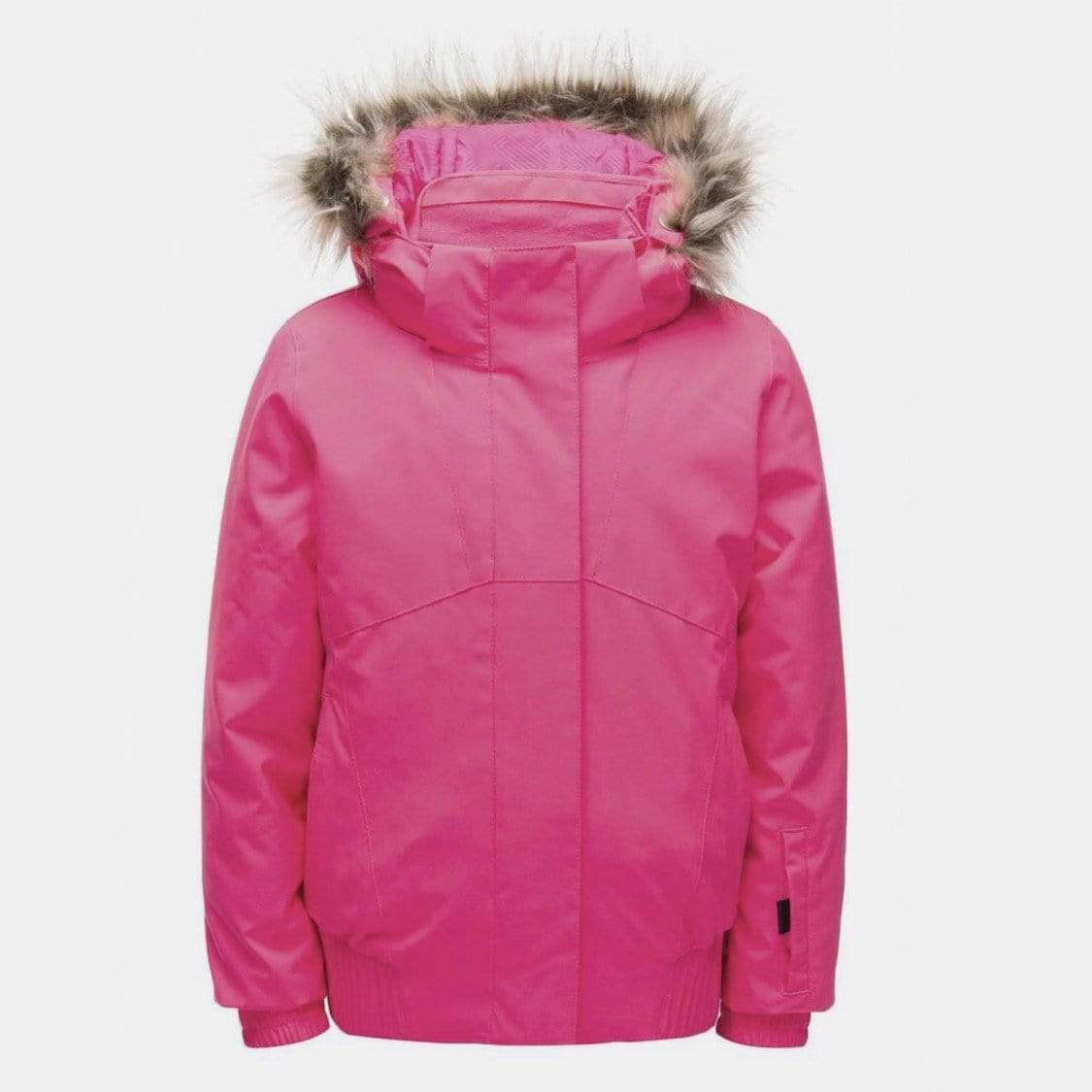 Spyder - Girls Bryte Bubblegum Pink Overflow Lola Jacket Winter Jacket Spyder 2 Years