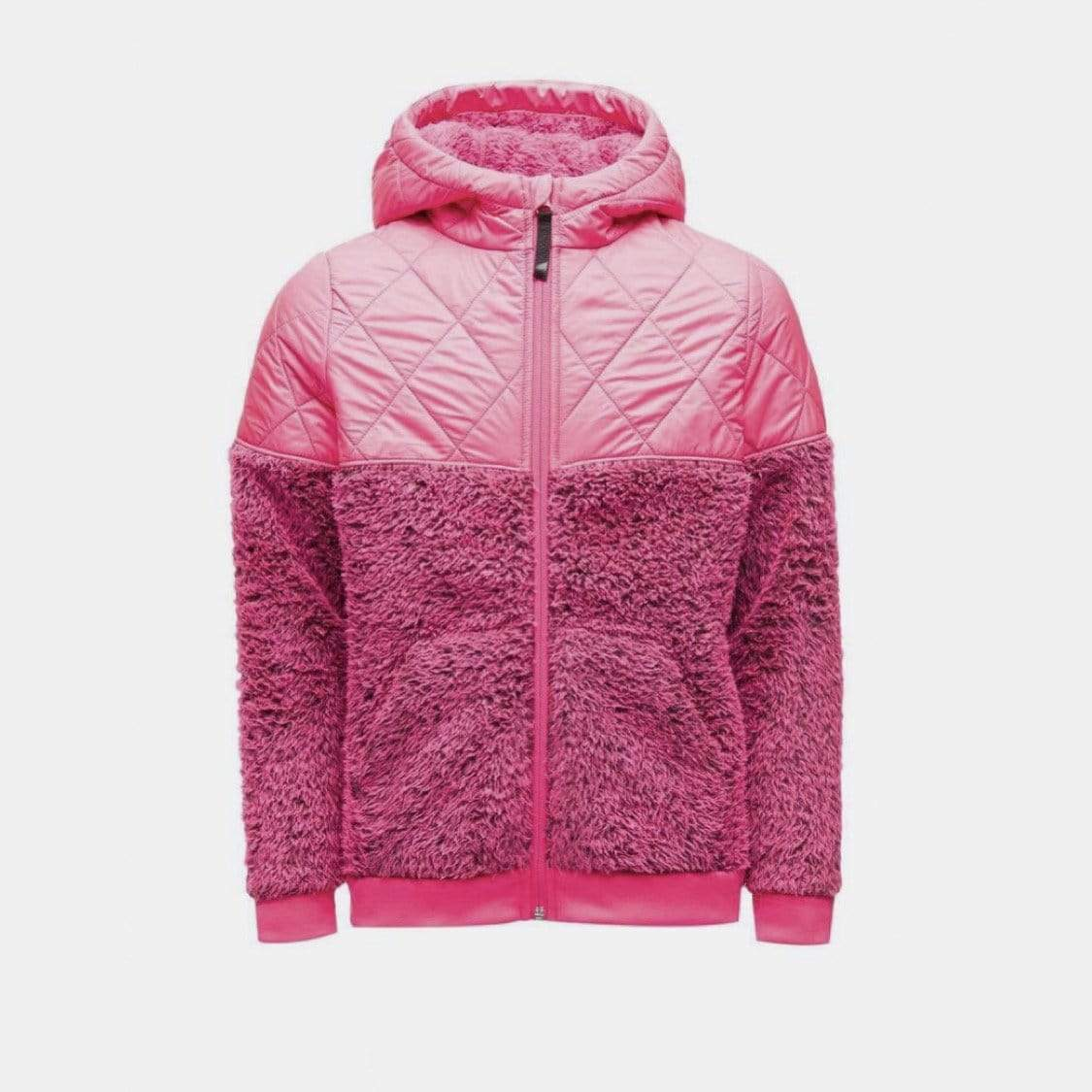 Spyder - Girls Bryte Bubblegum Pink Overflow Park Hoodie Jacket Winter Jacket Spyder S