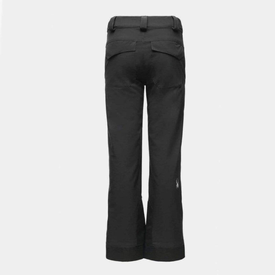 Spyder - Girls Olympia Black Snow Pants Snow Pants Spyder 8 Years