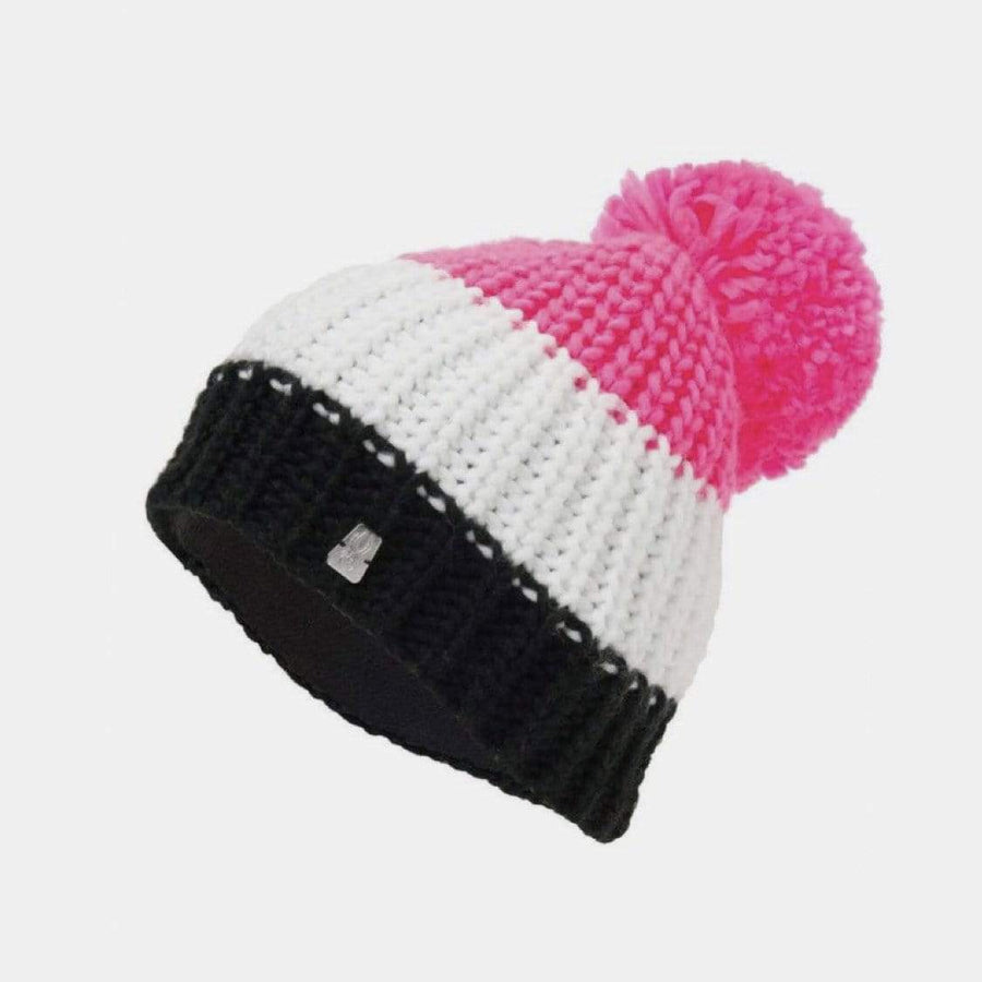 Spyder - Girls Twisty Pink Overflow Hat Winter Hat Spyder One Size (8 Years+)