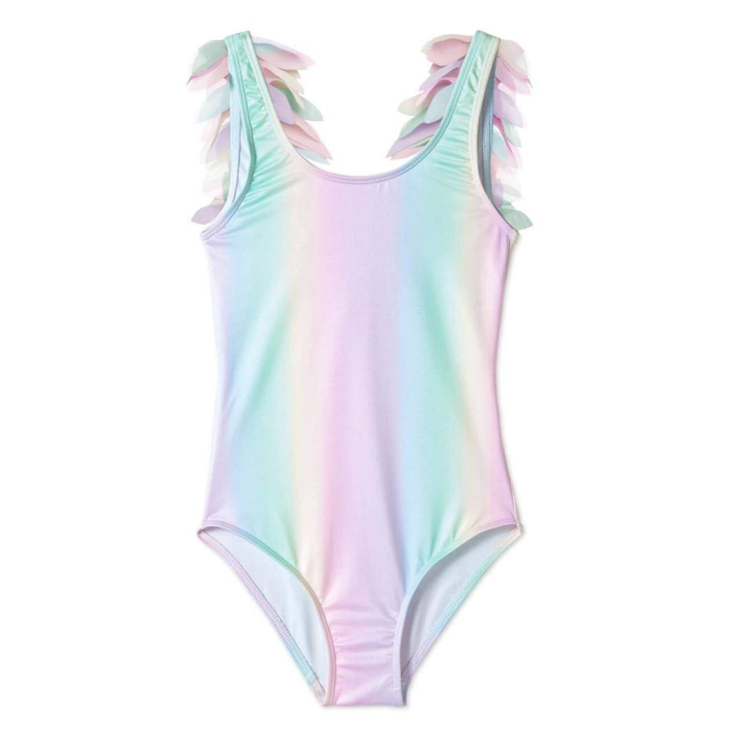 Stella Cove - Rainbow Tank Swimsuit With Rainbow Petals Swimwear Stella Cove
