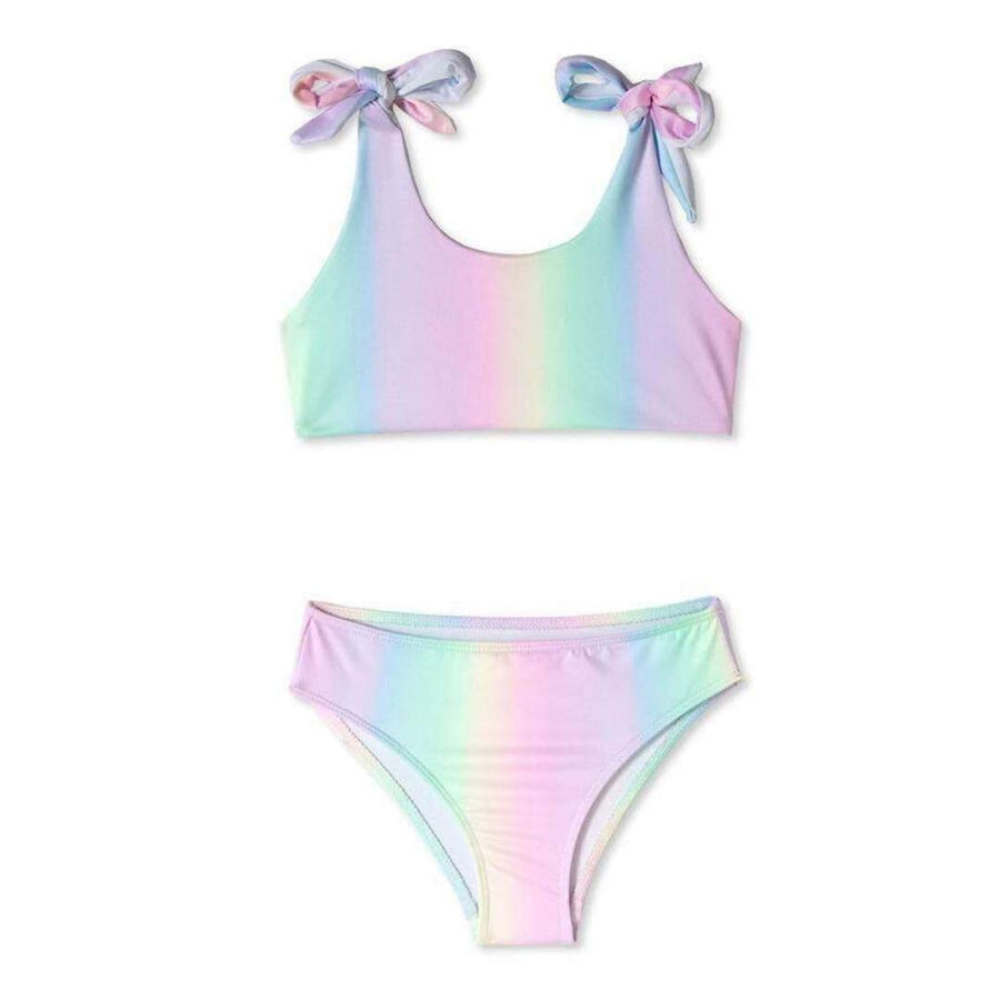 Stella Cove - Rainbow Tie Shoulder Bikini Swimwear Stella Cove