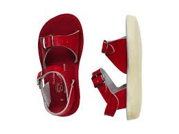 Surfer Salt Water Sandals - Red Sandals Salt Water Sandals