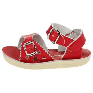 Sweetheart Salt Water Sandals - Red Sandals Salt Water Sandals