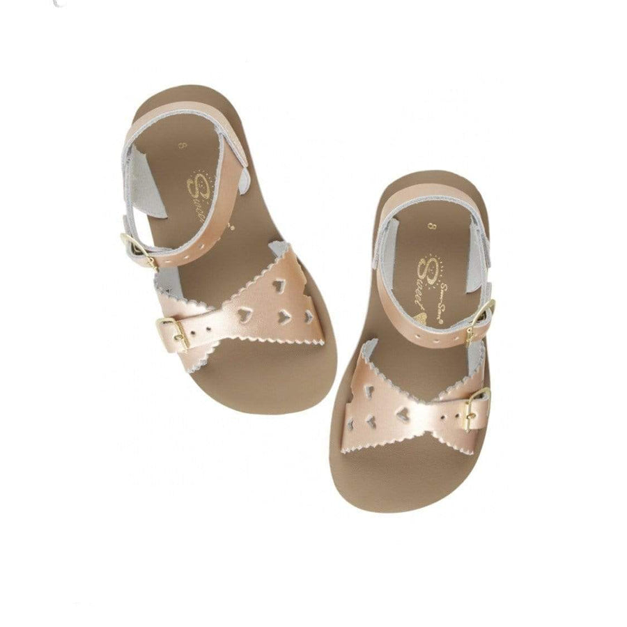Sweetheart Salt Water Sandals - Rose Gold Sandals Salt Water Sandals