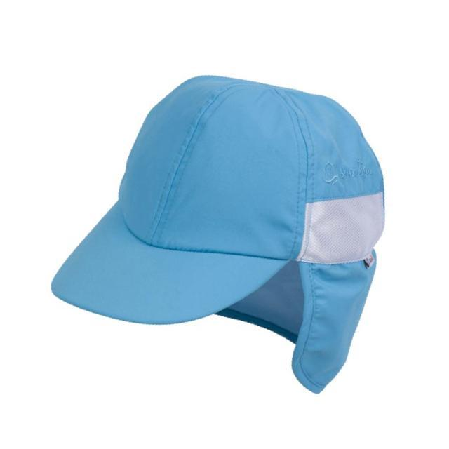 Swim Zip - Aqua Baby and Kids Hat with Neck Flap (0-8 Years) Hats Swim Zip
