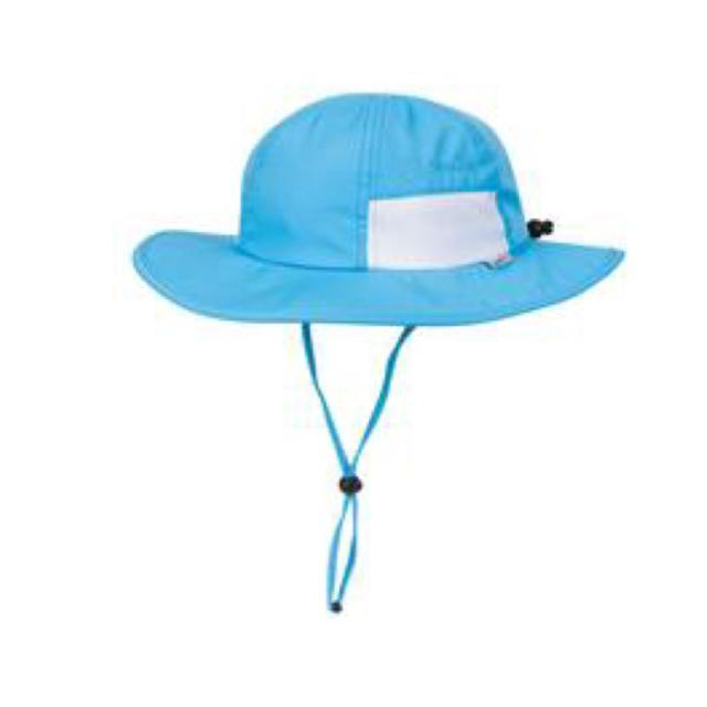 Swim Zip - Aqua Wide Brim Baby Hat Hats Swim Zip