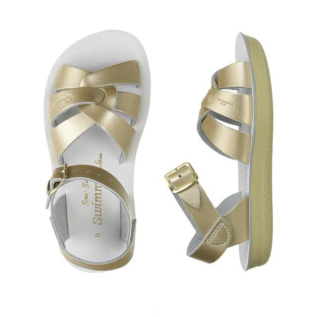 Swimmer Salt Water Sandals - Gold Sandals Salt Water Sandals