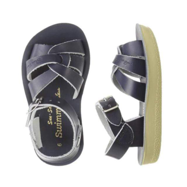 Swimmer Salt Water Sandals - Navy Sandals Salt Water Sandals