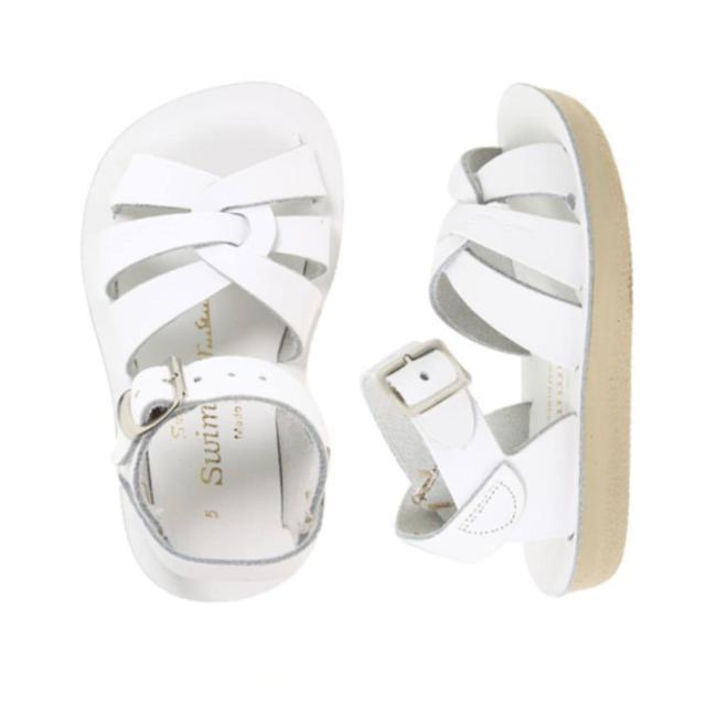 Swimmer Salt Water Sandals - White Sandals Salt Water Sandals