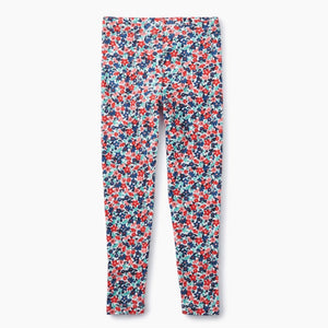 Tea Collection - Cape Floral Ribbed Baby and Girls Leggings Leggings Tea Collection