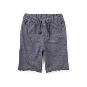Tea Collection Denim Like French Terry Shorts (7 Years) Shorts Tea Collection