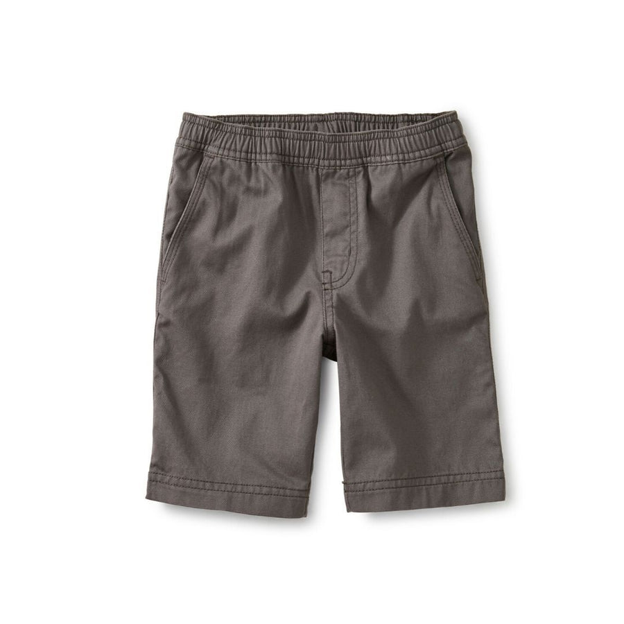 Tea Collection Easy Does It Twill Shorts - Thunder Shorts Tea Collection