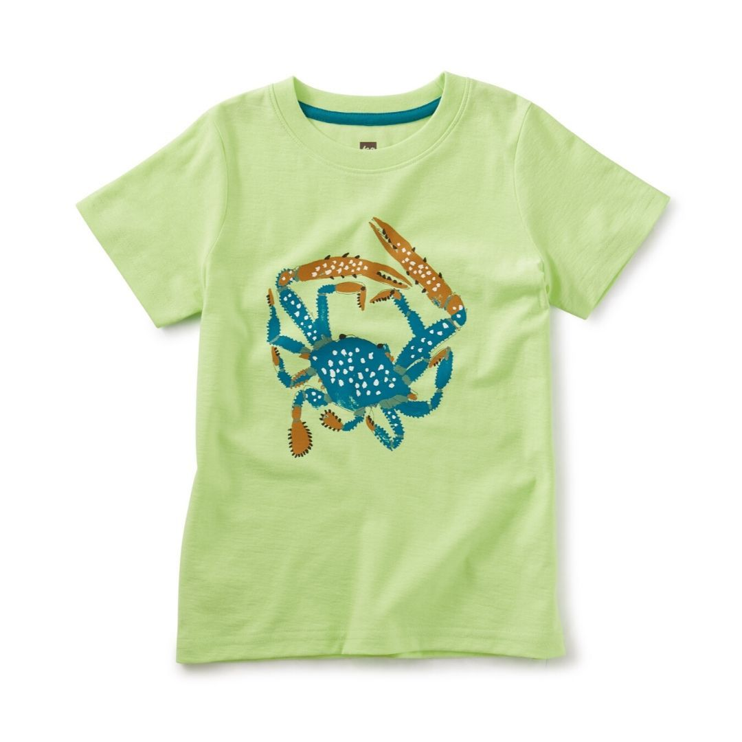 Tea Collection Spotted Crab Graphic Tee Short Sleeve Shirts Tea Collection