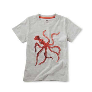 Tea Collection Squiggles the Octopus Tee Short Sleeve Shirts Tea Collection