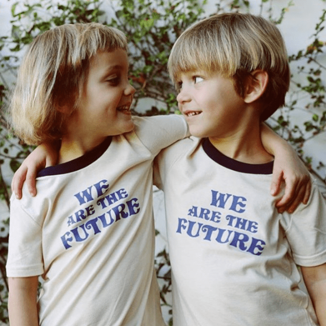 The Bee & The Fox - We are the future Tee Short Sleeve Shirts The Bee & The Fox