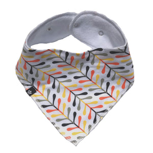 Tiny Abstract bandana bib Bandana Bib Tiny Trendsetter One Size