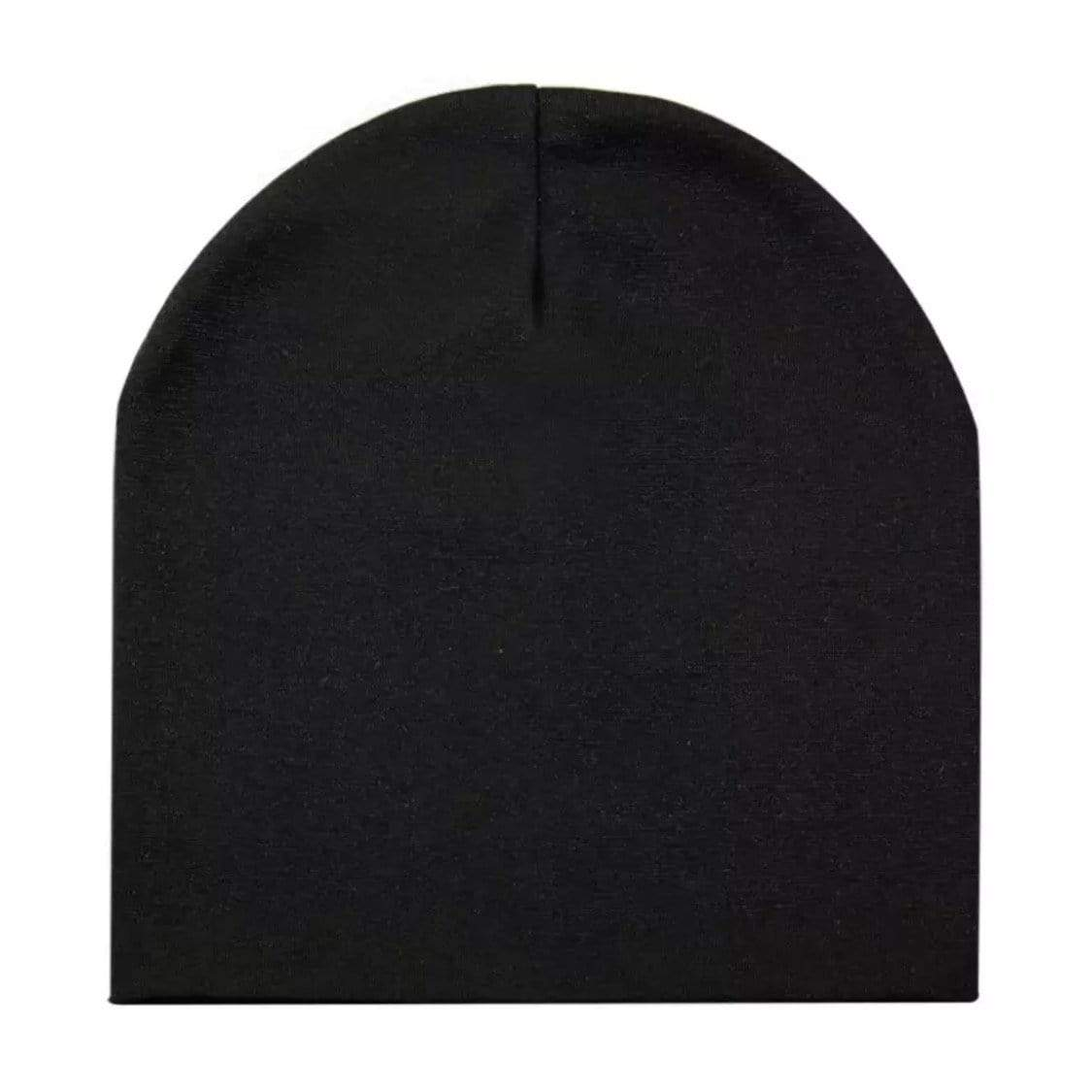 Tiny Black Beanie Hat Hats Tiny Trendsetter Small (6 Months - 2 Years)