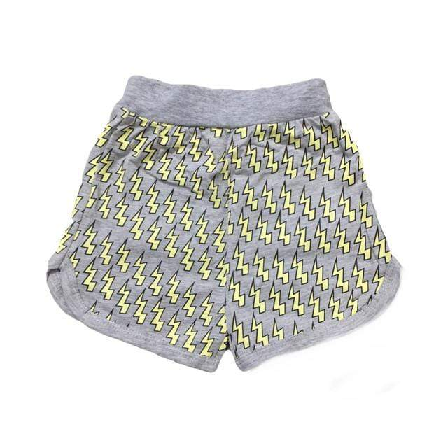Tiny Lightening Bolt Shorts (18-24 Months) Shorts Tiny Trendsetter 18-24 Months
