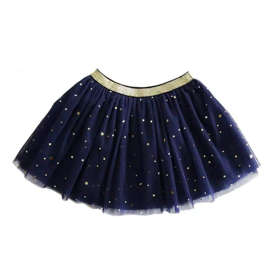 Tiny Navy with Gold Stars Tutu Tutu Tiny Trendsetter 12-18 Months