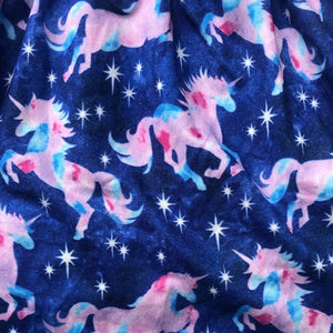 Tiny Ruffle Sleeve Magical Unicorns Girls Dress Dress Tiny Trendsetter