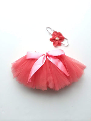 Tiny Tutu and Headband Set - Fuscia Tutu Tiny Trendsetter