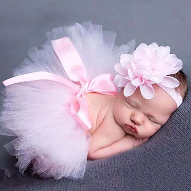 Tiny Tutu and Headband Set - Pink Tutu Tiny Trendsetter 0-6 Months