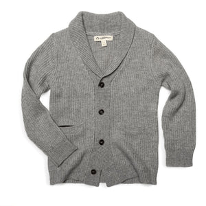 U1SC Appaman Cloud Heather Shelby Cardigan Sweater Appaman