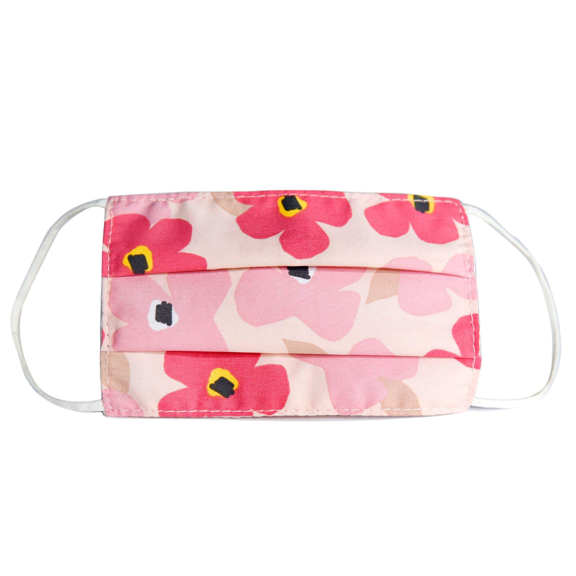 Urban Infant Kideroo Face Mask - Poppies Face Masks Urban Infant