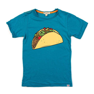 V1T10 Appaman Taco Tuesday Graphic Tee - Caribbean Sea Short Sleeve Shirts Appaman