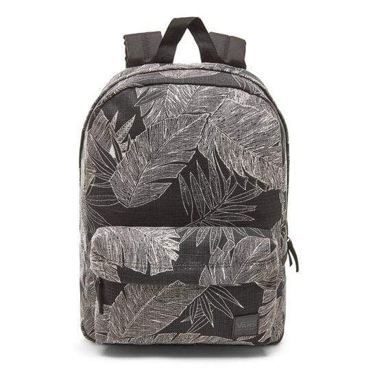 Vans - Deana III Monochrome Palm Floral Backpack Backpack Vans