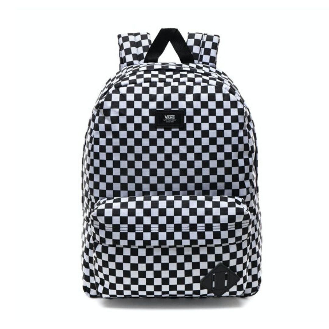 Vans - Old Skool III Black/White Checkerboard Backpack - 22 L Backpack Vans