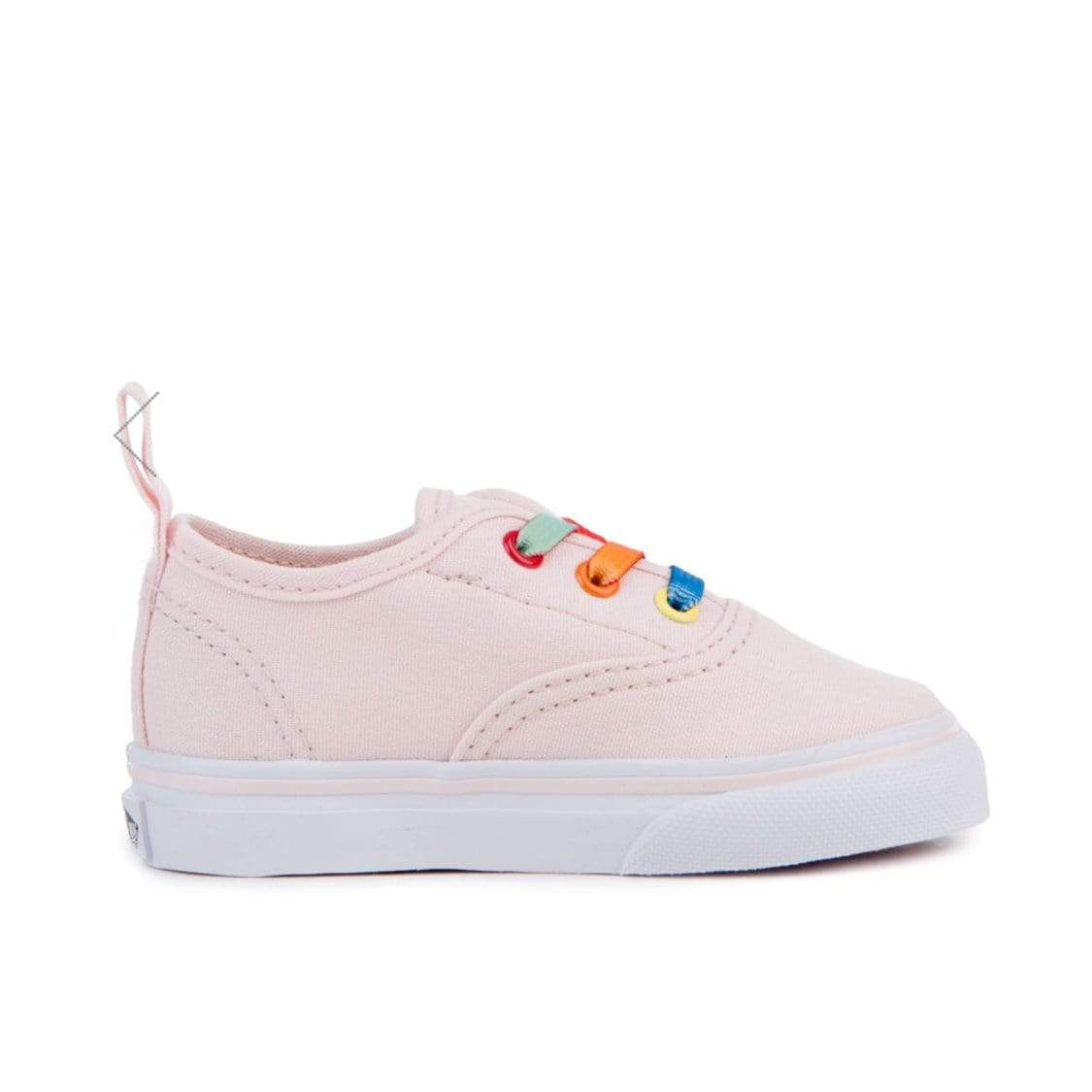 Vans - Rainbow Shine Elastic Slip On Running Shoes (Sizes Kids 10.5 - Youth 3) footwear Vans