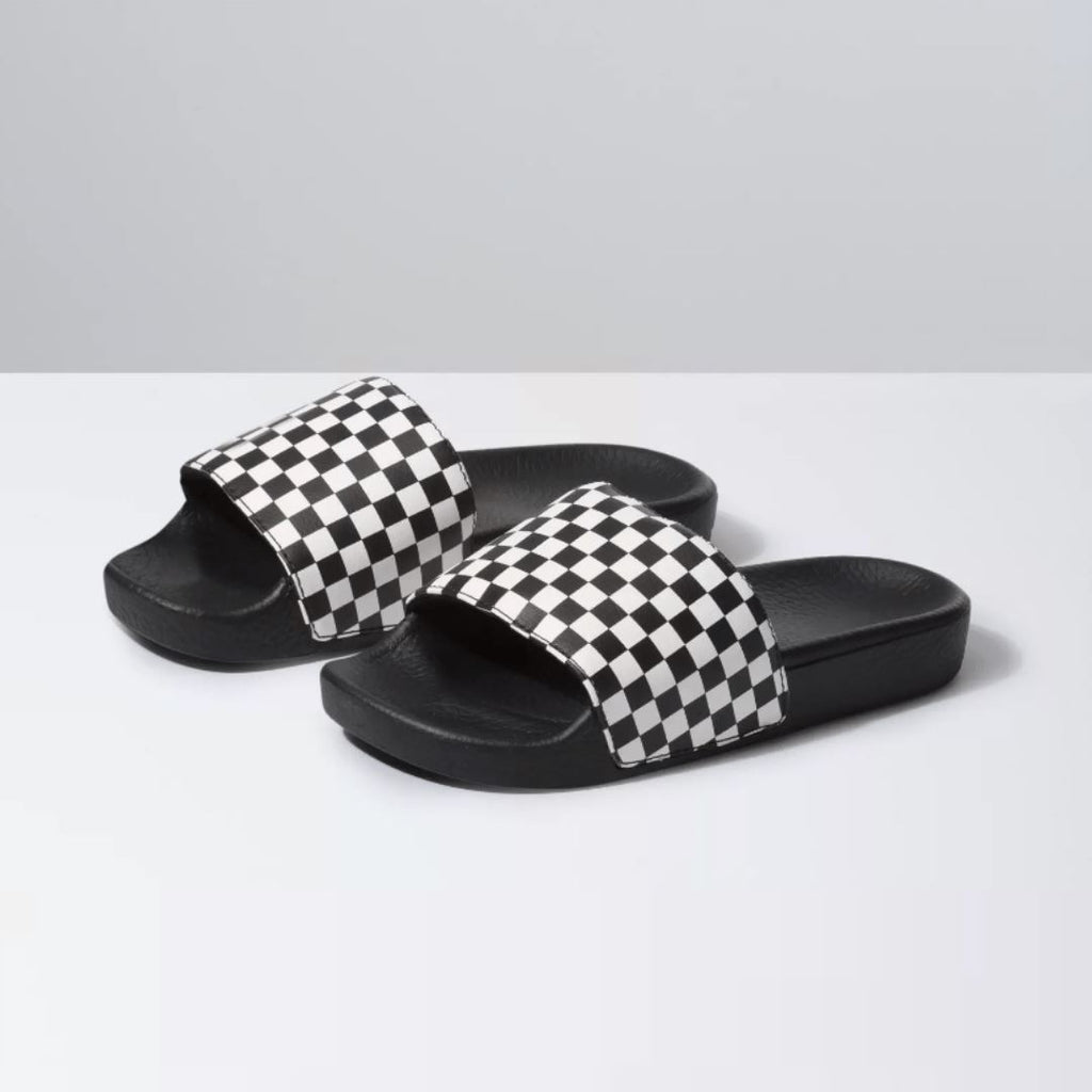 VANS - Slide On Junior - Checkerboard (Kids 11 - Youth 6) footwear Vans Kids 11